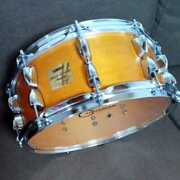 Yamaha Maple Custom Absolute Snare Drum 14 X 5.5 Inches
