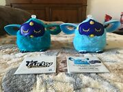 Two Interactive Furby Connects Teal And Cyan, Works, Talks And Responds To Touch