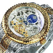 Forsining Skeleton Carved Tourbillon Mechanical Watches Luxury Menand039s Wristwatch