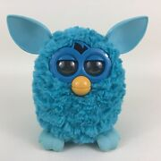 Furby Boom Interactive Toy Pet Hasbro 2012 Light Blue Tested Robotic Toy Friend
