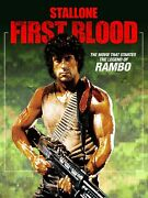 Rambo 42- Poster A0-a4 Film Movie Picture Art Wall Decor Actor