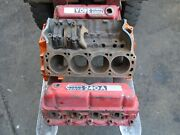 Volvo Penta/ford Aq240a 351 V8 Boat Engine Block/heads Good Used Rare In Uk
