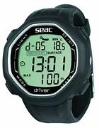 Seac Driver Wrist-mount Freediving Computer With Data Download System One Size