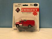 Boley 4021-11 Red Int'l Emergency Fire Truck Retired Authentic Boley