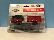 Boley 2200-13 Spartan Black And Red Fire Truck Retired Authentic Boley