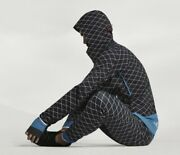 Nwt Nike X Undercover Gyakusou Shield Black Reflective Quilted Pants 743352 Sz L