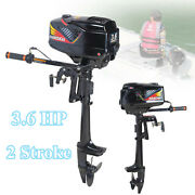 3.6hp Outboard Motor 2 Stroke Fishing Boat Engine Water-cooling Cdi Short Shaft