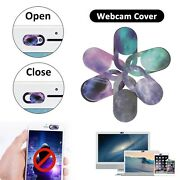 6xwebcam Cover Shutter/sticker Privacy Protection For Smartphone Laptop Plastic