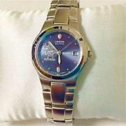 Citizen Disney Eco-drive Mickey Mouse Ladies Analog Watch Solar Used From Japan