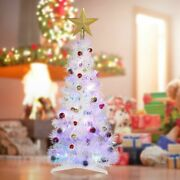 Indoor Outdoor Home Decorations White Artificial Christmas Xmas Tree Festive
