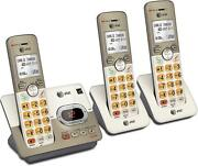 Cordless Phone System 3 Handsets Answering Machine Expandable Atandt El52313 Gifts