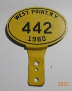 Vintage 1960 West Point Military Base Plate Topper 442 Oldsmobile W-30 Cutlass