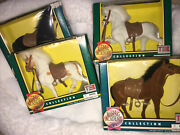 Vintage The Riding Academy Collection Tek Toys Horse Equestrian Lot 4 Nib