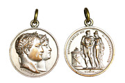 C251, France And Germany Napoleon Bonaparte 1810 Later Strike Br Medal, Marriage