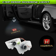 Car Door Projector Laser Ghost Shadow Light Fit For Honda Accord Odyssey Elysion
