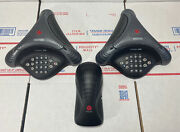 Polycom Voicestation 500 And 300 Conference Phone + Power -next Day Ship -warranty