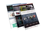 Custom 2021 Wordpress One Page Small Business Website - Small Business Site