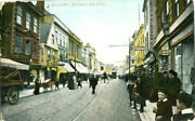 1910s Postcard Stead And Simpson Shop In Northgate Street Gloucester