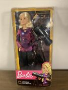Barbie National Geographic Astrophysicist Doll And Telescope Star Map Space New