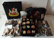 Magical Musical Moments Pins Complete Set Of 137 W/all Cards Binder Bag Disney