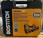 Bostitch Btfp72156 Fn Smart Point 15 Gauge Angled Finish Nailer, 1-1/4 To 2-1/2