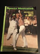 Jack Nicklaus / Master Of Them All 4/17/72 Sports Illustrated Subscription Issue