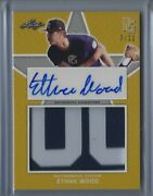 Ethan Wood 2020 Leaf Perfect Game National Showcase Patch Auto Xrc Gold /12
