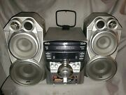Jvc Compact Component System Stereo Receiver Jvc Mx-c55 Jvc Boombox As Is