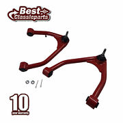 2-4and039and039 Front Upper Control Arm Heavy Duty 2 Set For 07-15 Tubular Chevy Silverado