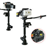 4hp 4-stroke Outboard Motor Fishing Boat Engine Jet Pump Wind Cooling Cdi System