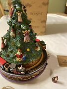 Jim Shore All Aboard For Christmas Joy Musical Moving Train Tree 2008