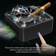Rechargeable Smokeless Ashtray Portable Home Office Secondhand Smoke Air Filter