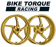 Oz Piega Gold Forged Alloy Wheels To Fit Yamaha R3 15 - 18