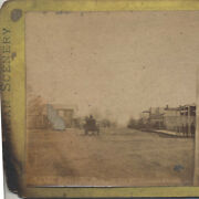 Stereoview Of Frontier Town Greenville, Mississippi Main Street