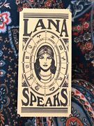 Rare Out Of Print Lana Del Rey Lana Speaks Fortune Card