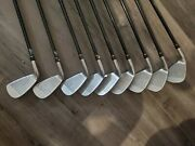 Honma ☆☆☆ R Twin Marks Mg-818 Iron Set Clubs 4-11 And Sw 9pc Used Good