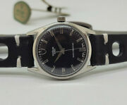 Vintage Rolex Tudor Oyster Black Dial Manual Wind Manand039s Watch