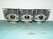 Kawasaki H2 750 Cylinders Left Center Right Early Tp-1 Square Cut