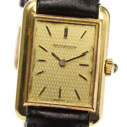 Jaeger-lecoultre 18k Yellow Gold Antique Hand Winding Ladies Watch_625968