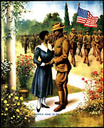 African American Poster / Colored Man Is No Slacker Original American Wwi Poster