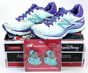 New Balance Rundisney Run Disney Mad Tea Party Shoes 880 V6 With Clips Size 8.5