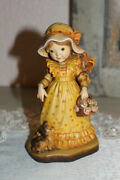 Anri Sarah Kay Garden Party 6 Hand Carved Lim. Edition Only 2000 Made