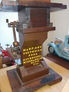 Antique Columbian Feed Governor Used With A Roller Mill.