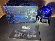 Greg Mike X Nghtmre Crystal Ball + Stand Signed Coa 39/150 Limited Edition