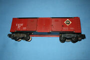 Rare American Flyer 974 Erie Operating Boxcar. Working