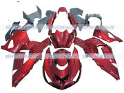 Fairing Fit For Zx14 Zzr1400 2006-2011 Plastic Bodywork Injection Pearl Red S39