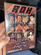 Roh Survival Of The Fittest 2004 Dvd Ring Of Honor Wwe Aew Nxt Tna Pwg Ecw