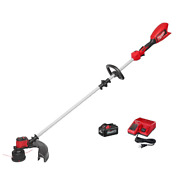 Brushless Straight Shaft String Trimmer Weed Eater M18 Charge 18v Battery 6ah