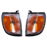 Fits Toyota 4runner 96-97 Set Of Park Clearance Signal Lights Lamps W/ Housing