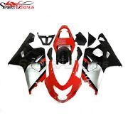 Injection Fairings For Gsxr750 2004 2005 Suzuki Gxsr600 K4 Red Black Body Covers